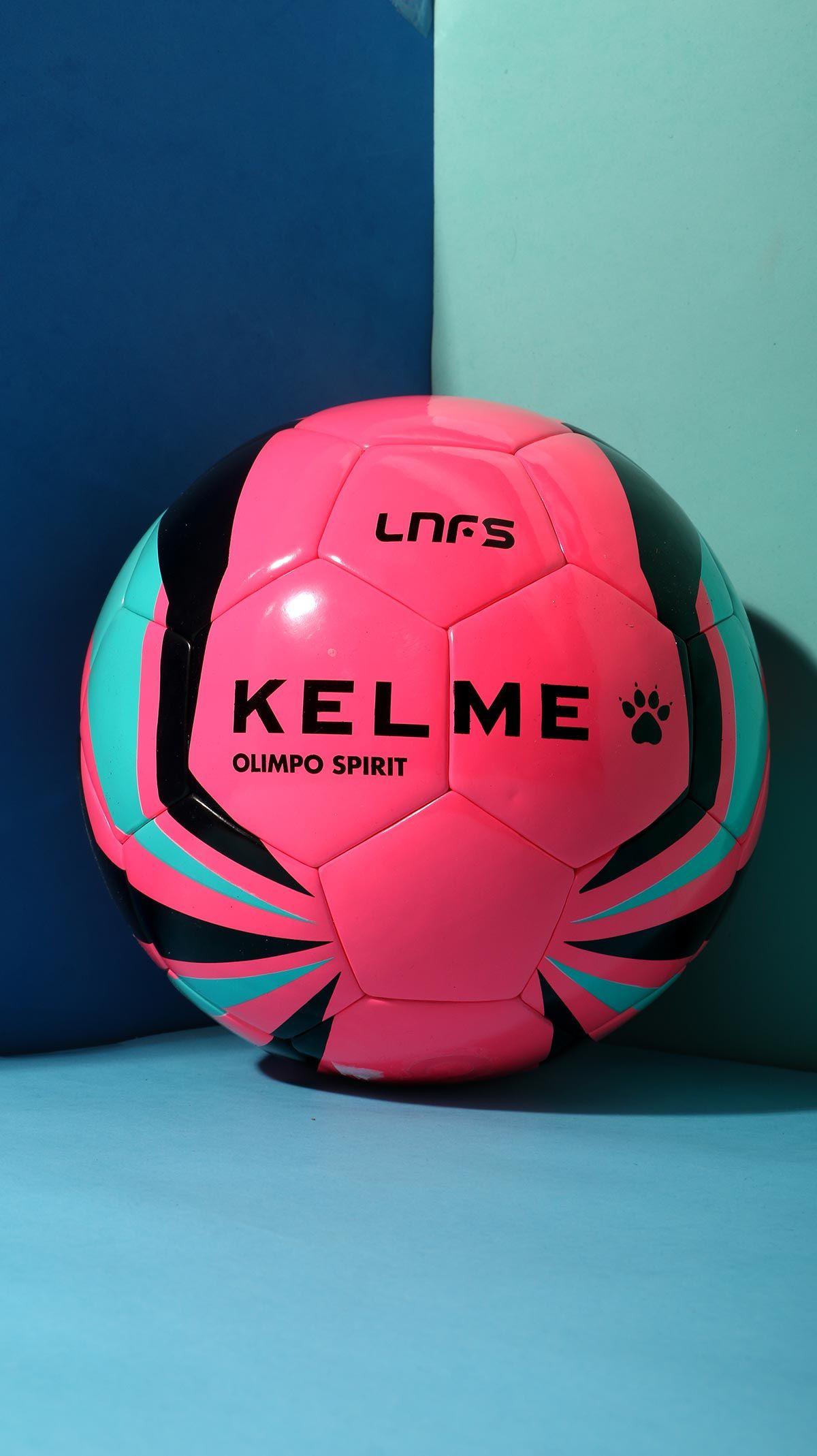 Balón Kelme Olimpo Spirit oficial de la Liga Nacional de Fútbol Sala de  color rosa 8f0a026dfdc9a
