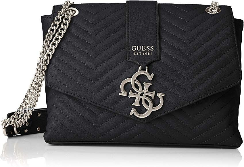 molto carino 4c299 62de2 Guess Violet Shoulder Bag Borsa a tracolla Donna, Nero ...
