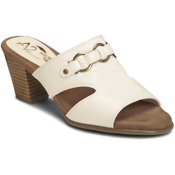 Womens Sandals Aerosoles Base Board Bone