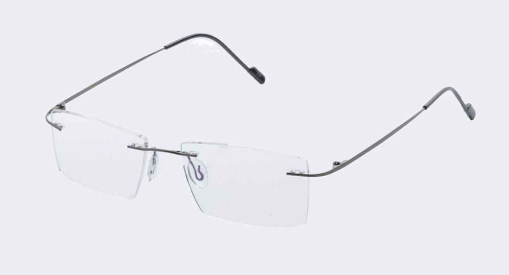 348d5b0cda DEDING Men Muliticolored rimless prescription eyeglasses Rimless Eyeglasses  For Men Super Light rimless eyeglass frames DD1423