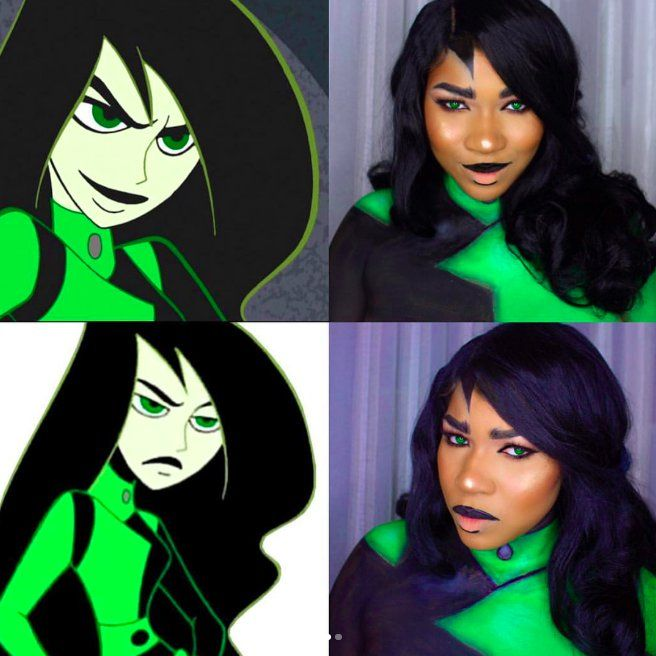 Blackwomenincostume Shego Cosplay Halloween Costumes Women Shego Halloween Costume Disney Cosplay