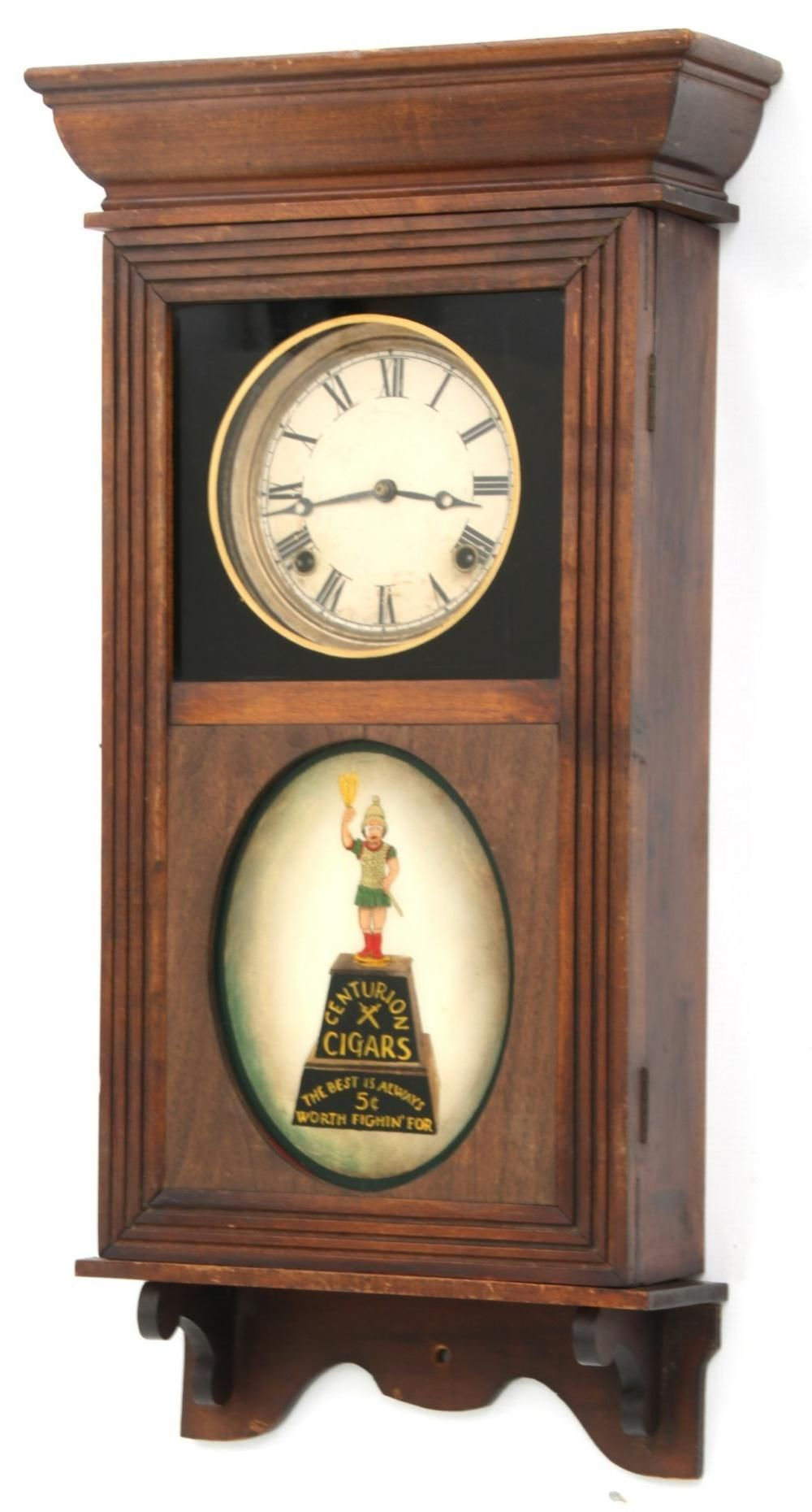 Centurion Cigars Advertising Sessions Wall Clock Clock Wall Clock Old Clocks