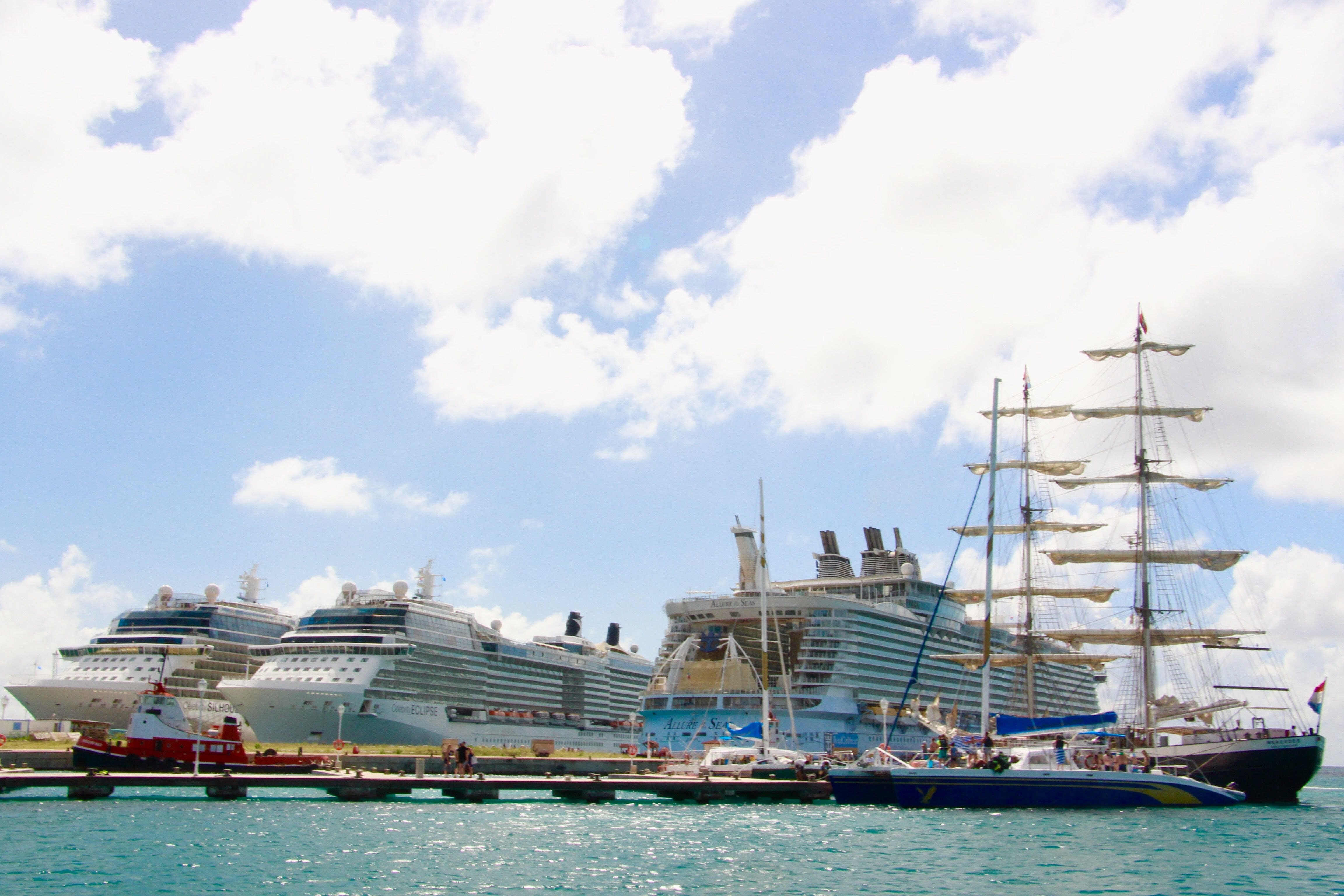 Celebrity Silhouette, Celebrity Eclipse and Royal