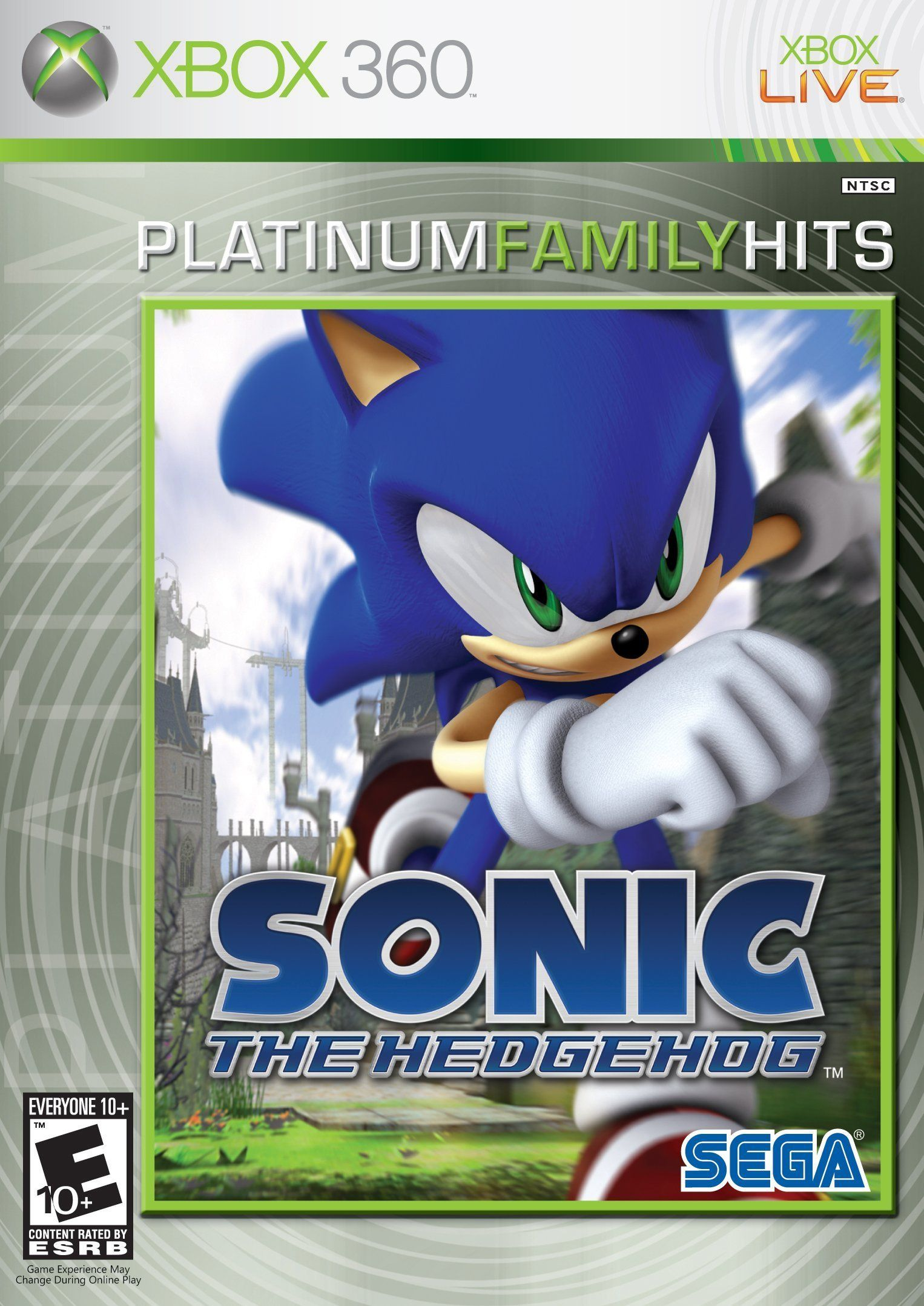Amazon Com Sonic The Hedgehog Sonic The Hedgehog Sonic Video Games Xbox