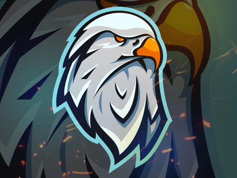 EAGLE Esport Team Mascot Logo