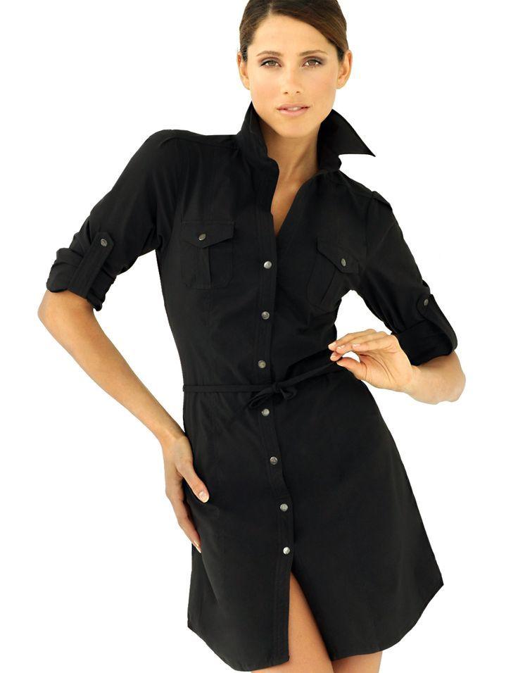 black shirt dress - Google Search | Black Lola | Pinterest | Dress ...