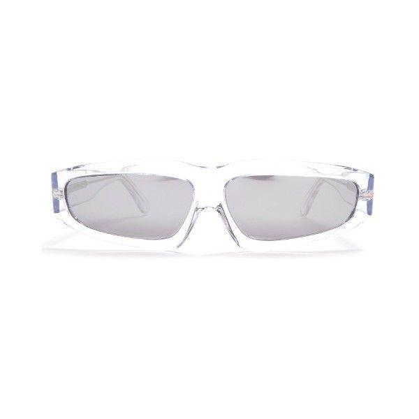 Black Angular Frame Sunglasses Marques Almeida QMncgiZ
