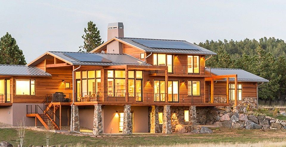 Prairie Style House Plan With 3742 Square Feet And 4 Bedrooms From