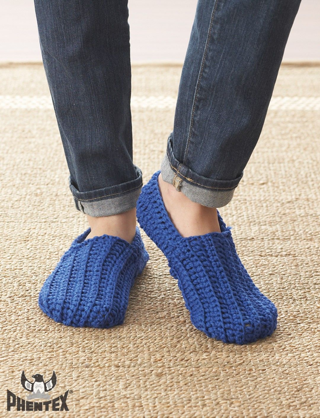 Sunday Loafers | Slippers and Socks- FREE Crochet | Pinterest ...