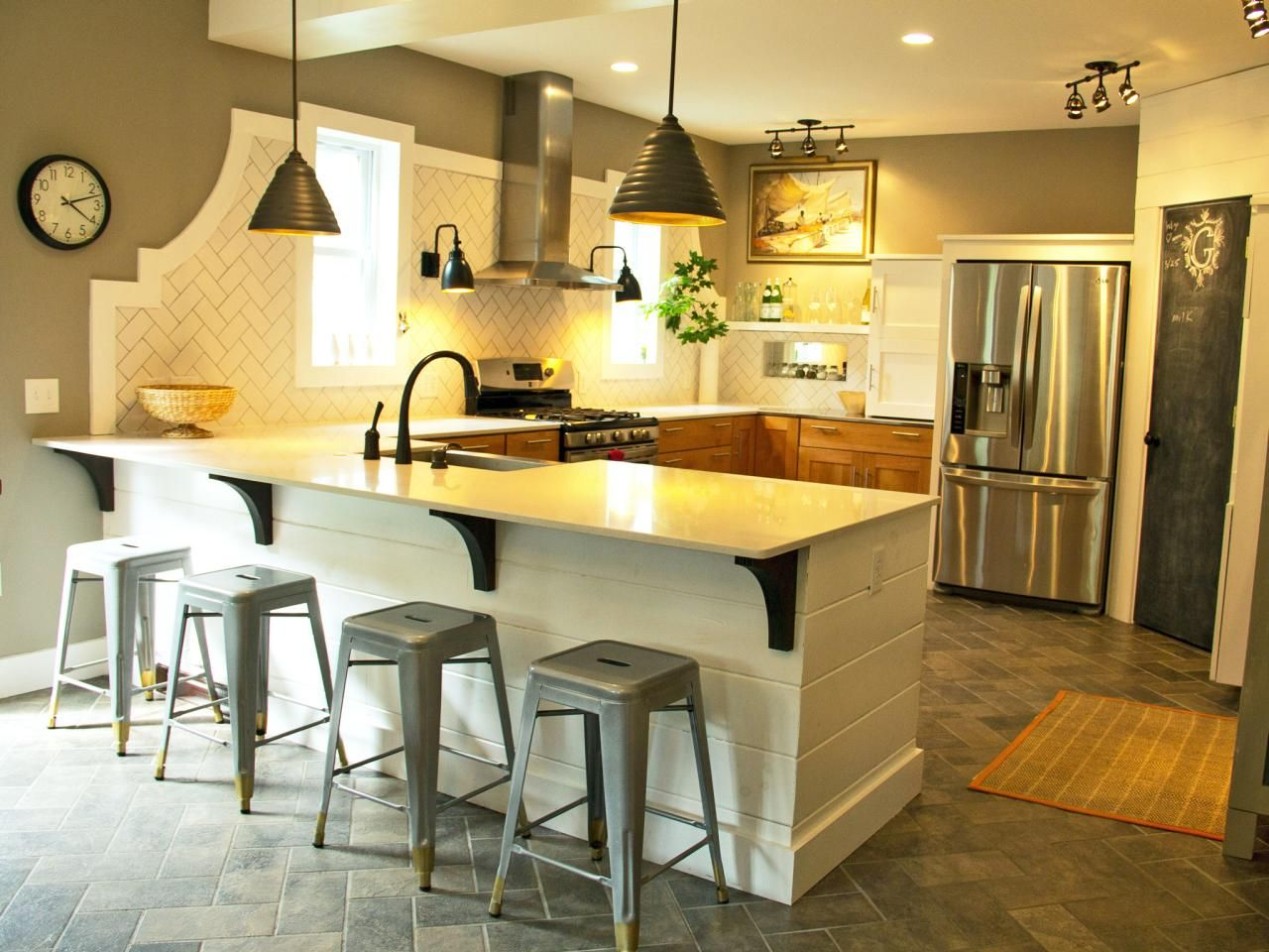 Best Kitchen Gallery: 15 Design Ideas For Kitchens Without Upper Cabi S Larder of Farmhouse Kitchens Without Upper Cabinets on rachelxblog.com
