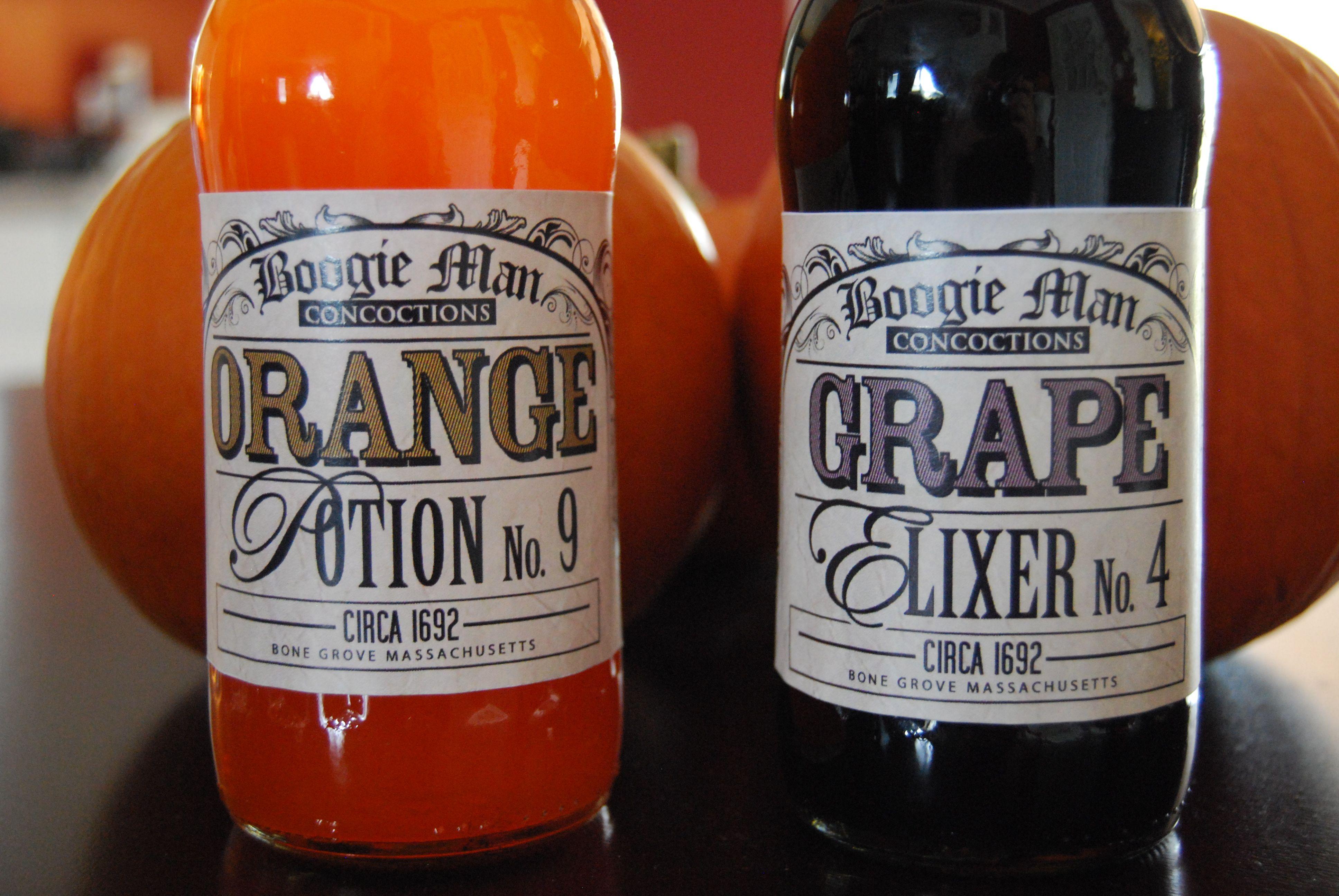soda machine labels free
