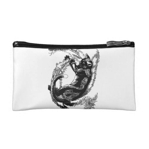 Cat Make Up Bags | Tumbling Cat Makeup Bag | Zazzle