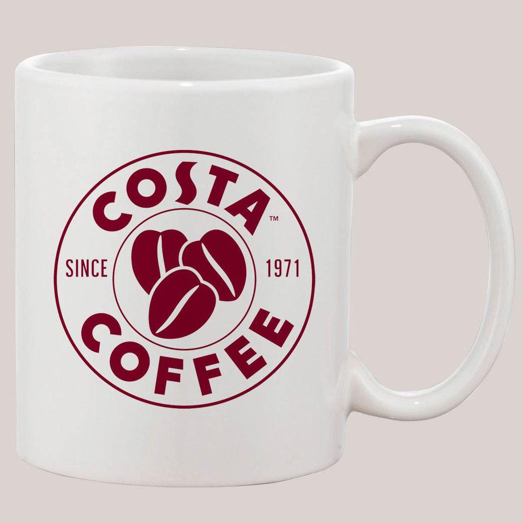 Costa Coffee Mug 11 Oz Ceramic Design Funny Custom Gift Mugs