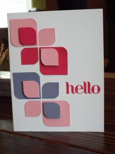 1000+ images about Cards with graphic designs on Pinterest ...