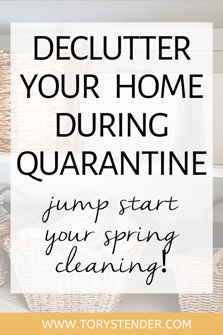Declutter Your Home During Quarantine