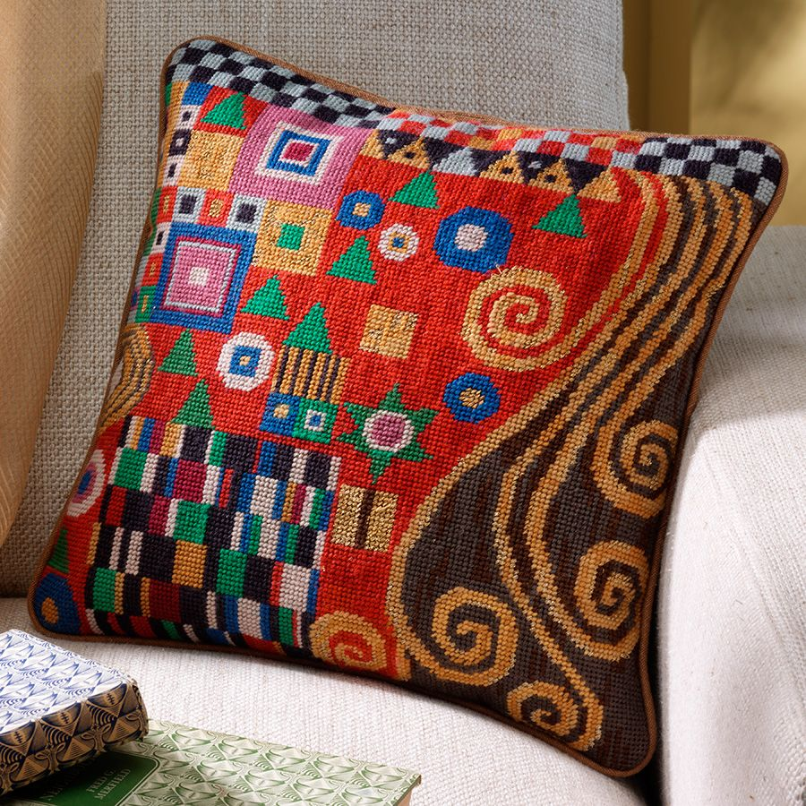 Ehrman Needlepoint Pillow//Picture Kit-Your Choice