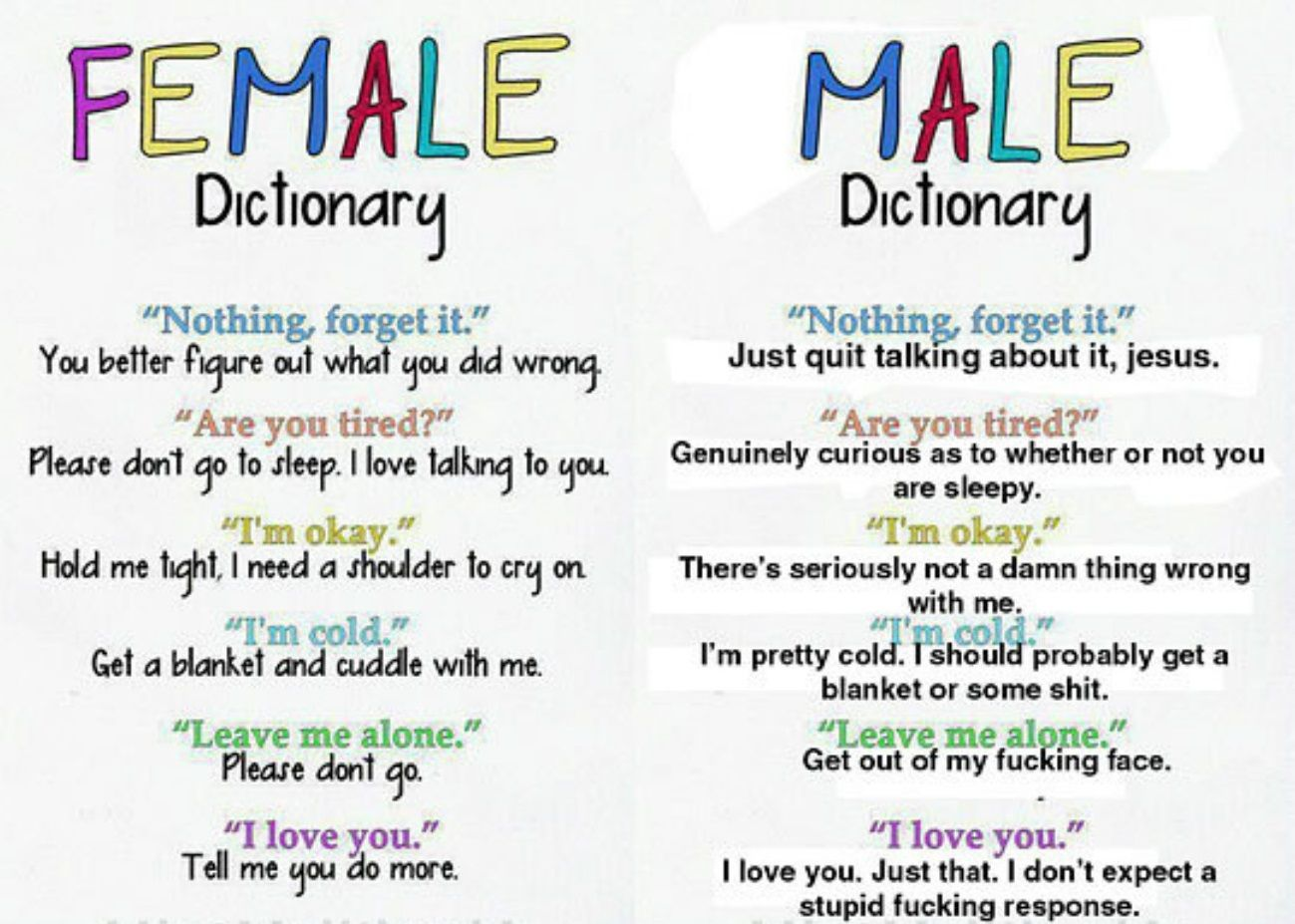 10 Things Girls Say And What They Really Mean - Funny n