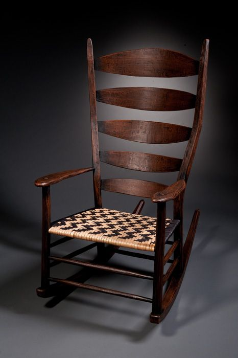 Amazing Oak Post And Rung Rocker Tim Hintz Old Chairs Furniture Beatyapartments Chair Design Images Beatyapartmentscom