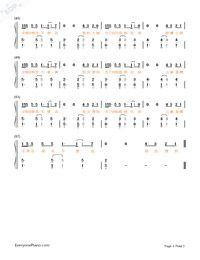 光年之外-《太空旅客》中文主題曲雙手簡譜預覽3