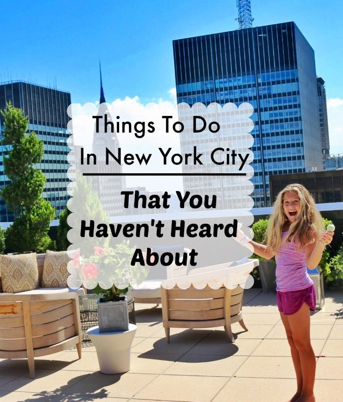 Fun Things To Do In New York City That You Havent Heard