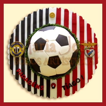 Futebol   Soccer   www.MariaJoaoBolosArtisticos.com