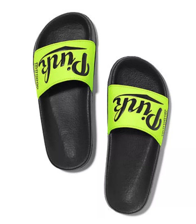 Victoria's Secret PINK Slip Slide on Sandals Flip Flop