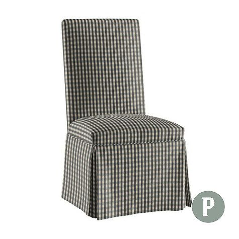 Super Parsons Chair Slipcover Ballard Essential Reupholstering Gmtry Best Dining Table And Chair Ideas Images Gmtryco