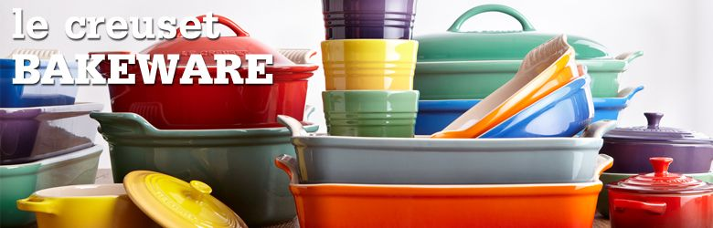 WISH LIST :) Le Creuset Bakeware ....I want in ALL colors