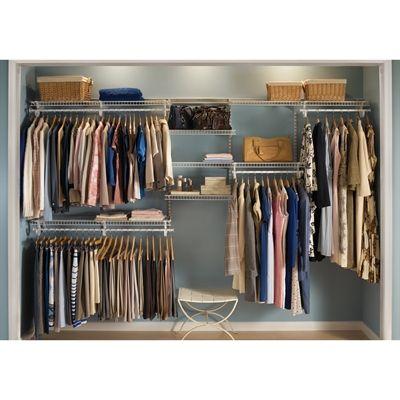 Closetmaid 881000 Shelftrack 7 Ft To 10 Ft Wide Closet Organizer