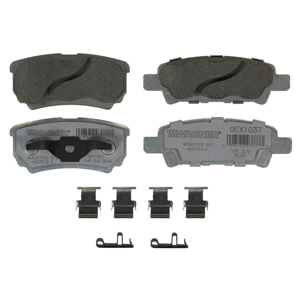 Wagner Brake OEX Disc Brake Pad - Rear-OEX1037 in 2019