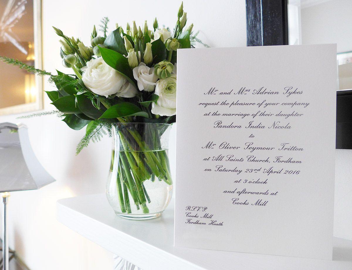 Smythson luxury bespoke wedding invitations | Paper & stuff ...