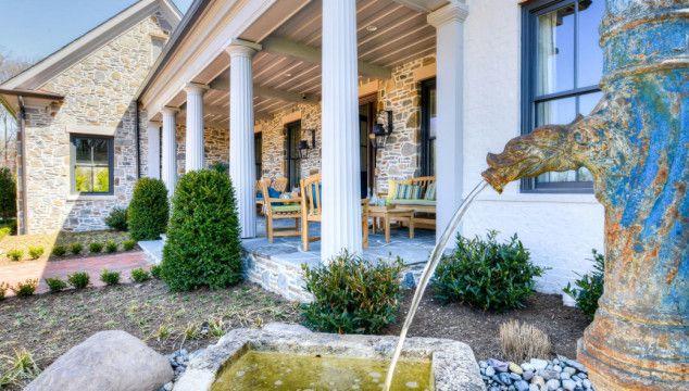 Tour this beautiful Virginia farmhouse.