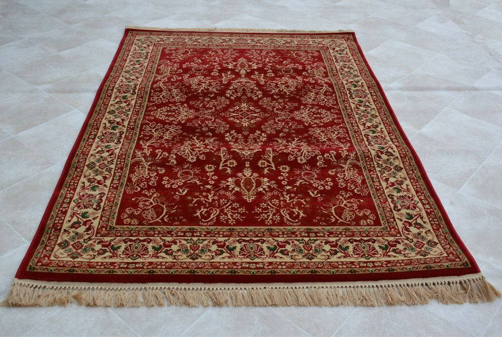 Red Carpet Traditional Floral Pattern Rug Small Medium Large
