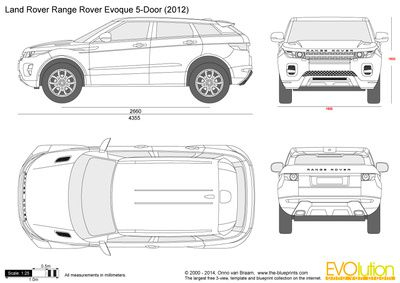 Range Rover Velar Blueprint