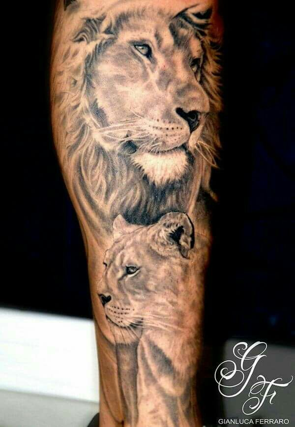 Nice Hair Detail Ink Obsessed Lion Tattoo Tattoos Lioness Tattoo