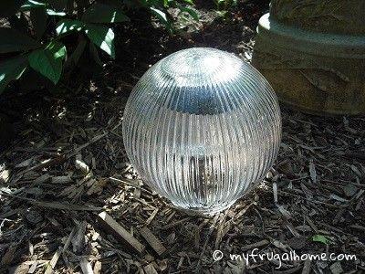 Lovely Make A Solar Gazing Ball