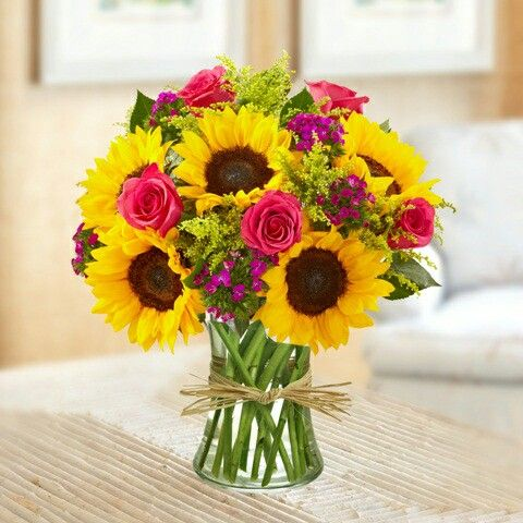 Flower Delivery Birthday Flowers Bouquet Flower Arrangements Sunflower Arrangements