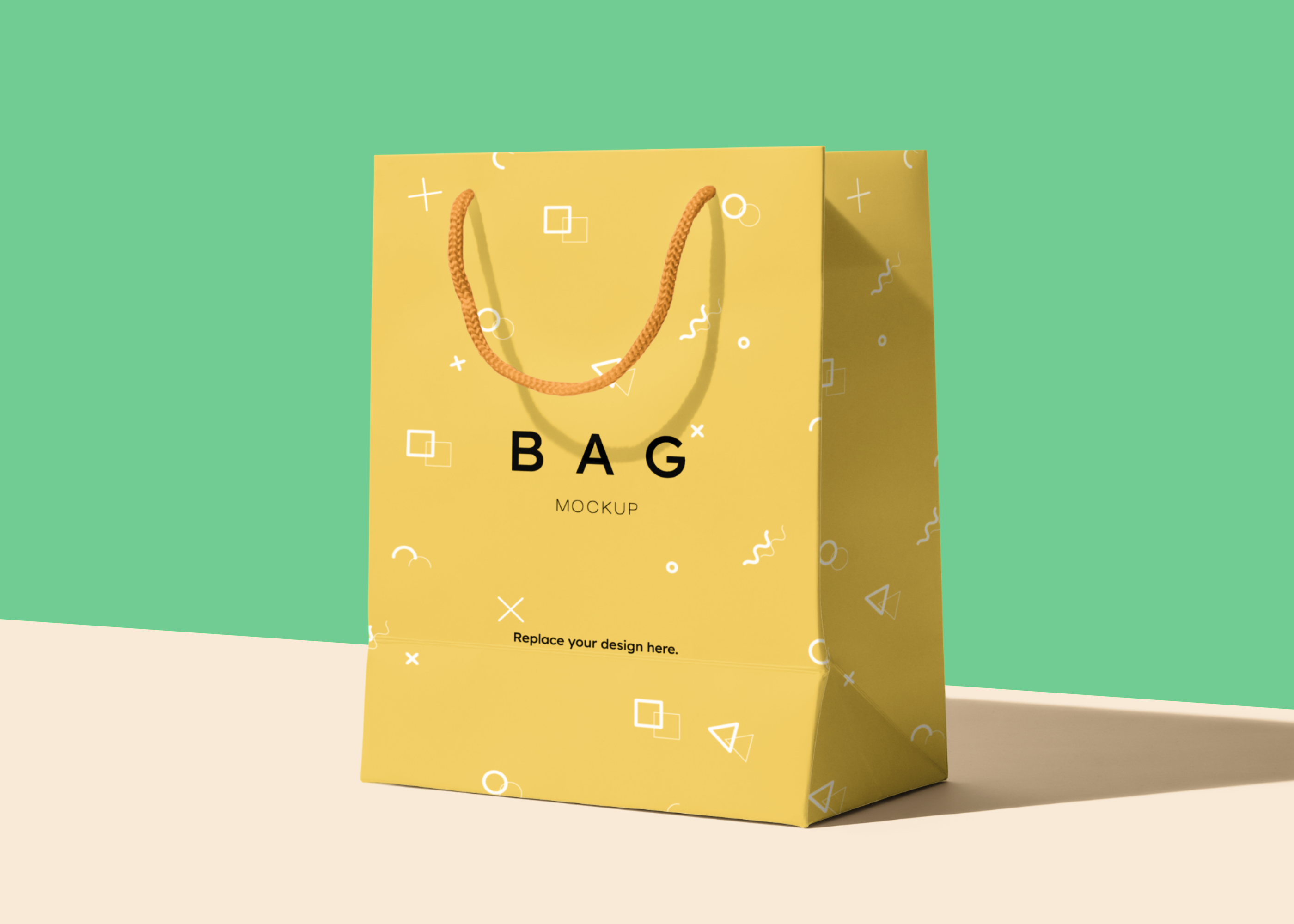 Download Paper Bag Free Psd Mockup Scene Bag Mockup Mockup Graphic Design Goodies
