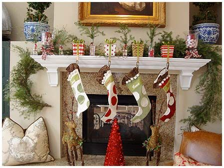 Christmas Stocking Hooks For Mantle.Mantle Stocking Holders For A Touch Of Christmas Magic