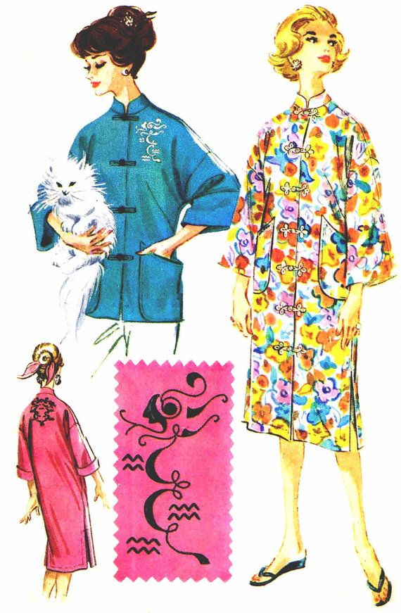 Vintage 1960s McCalls 2433 Sewing Pattern Womens by patternshop ...