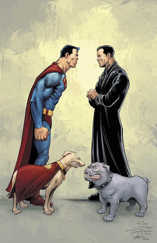 Ep Krypto Tumblr Cartoon Crossovers Comics Retro Comic Book