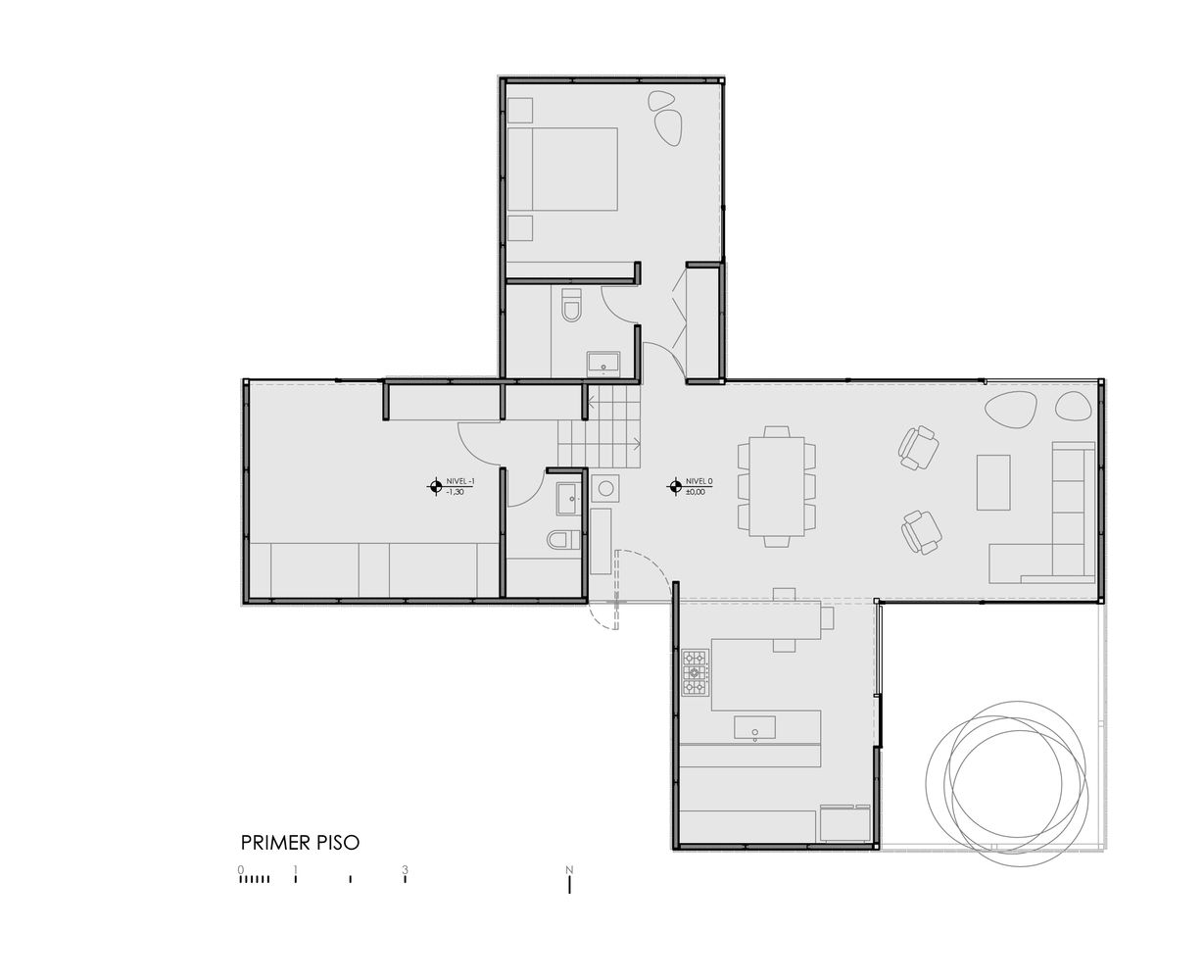 Gallery of cml house ricardo torrej n arturo chadwick for Chadwick house plan