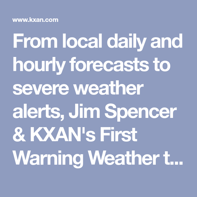 Weather Radar Kxan