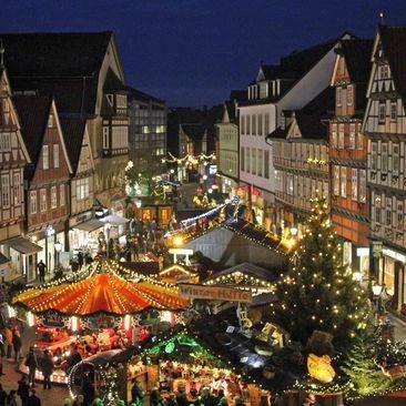 Weihnachtsmarkt (Christmas Market) in Celle, Germany in