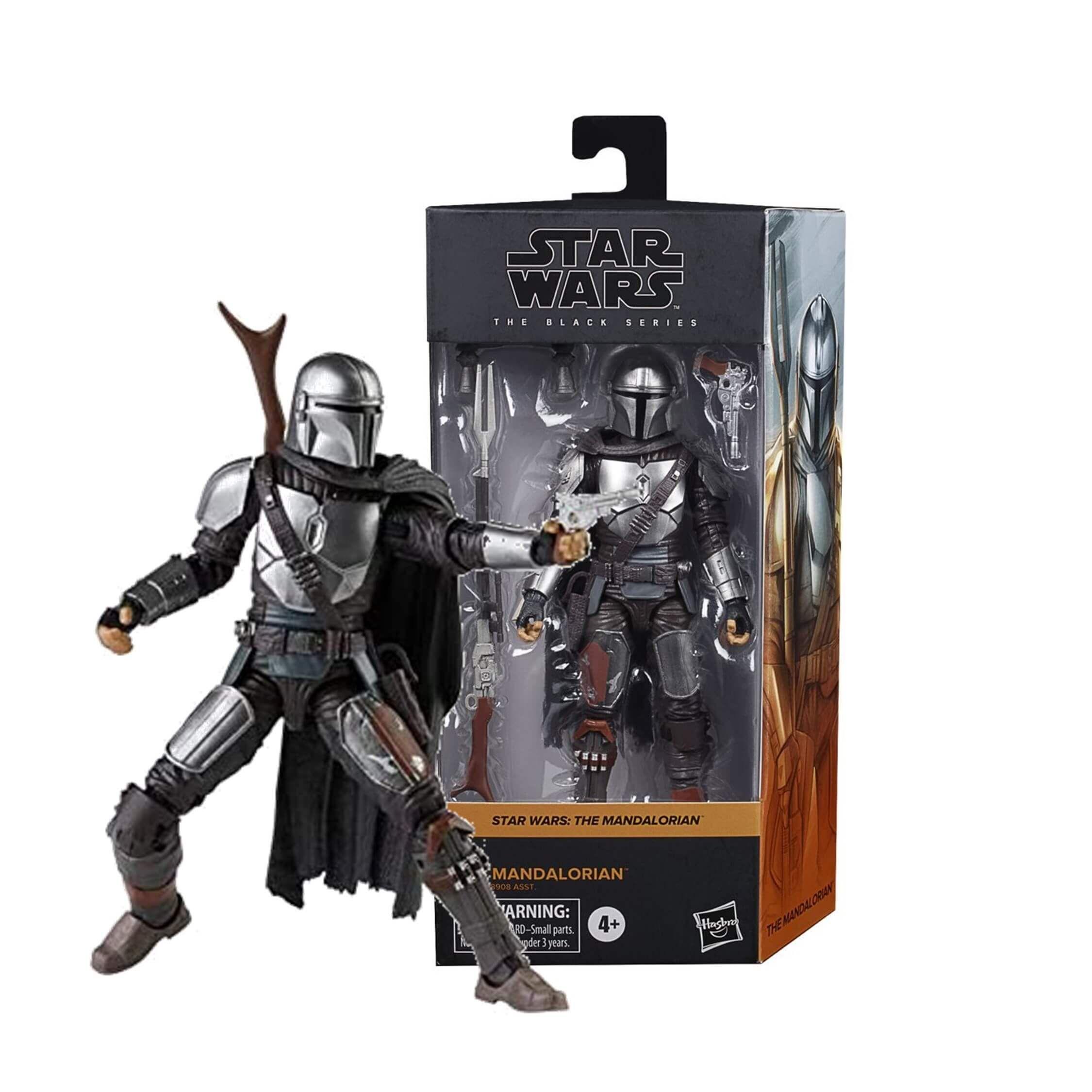 Star Wars Black Series Mandalorian Beskar Armor in hand