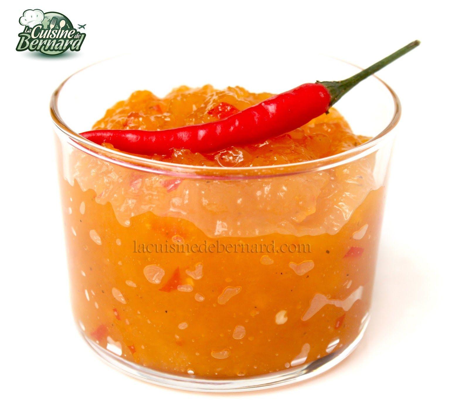 La cuisine de bernard le chutney de mangue l gumes for La cuisine de bernard