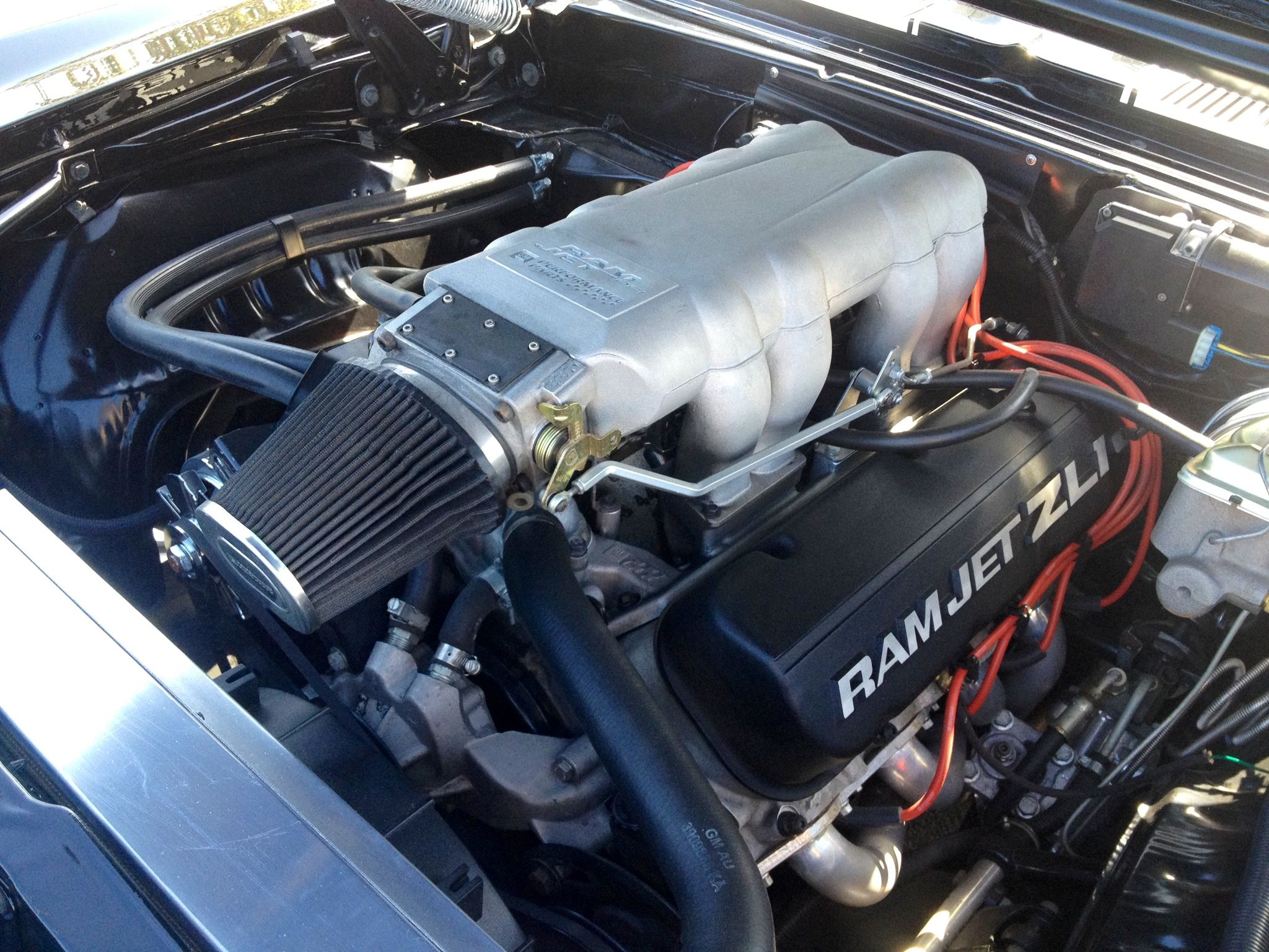 In a Camaro Z28