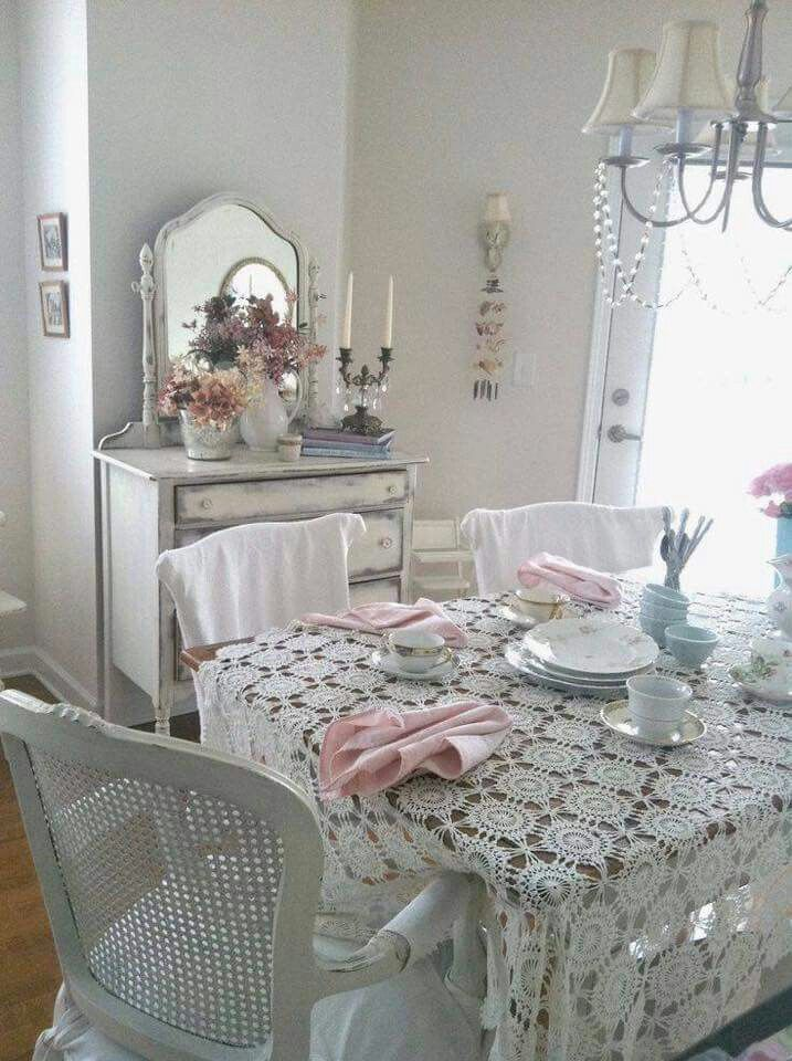Comedor | Dining rooms | Pinterest | Shabby chic, Shabby and Shabby ...