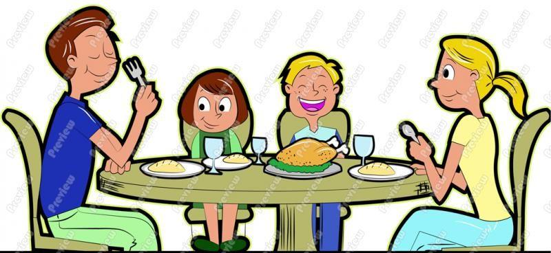 Healthy Family Eating Cartoon Mesothelioma Survival Rates Family Cartoon Family Eating Clip Art