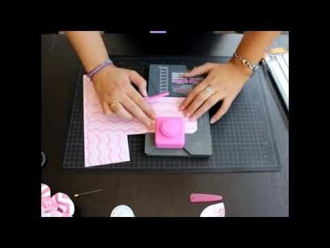 Como usar la Flower Punch Board Parte 2 - Scrapbooking Español - YouTube